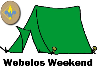 Webelos Weekend at Camp Thunderbird
